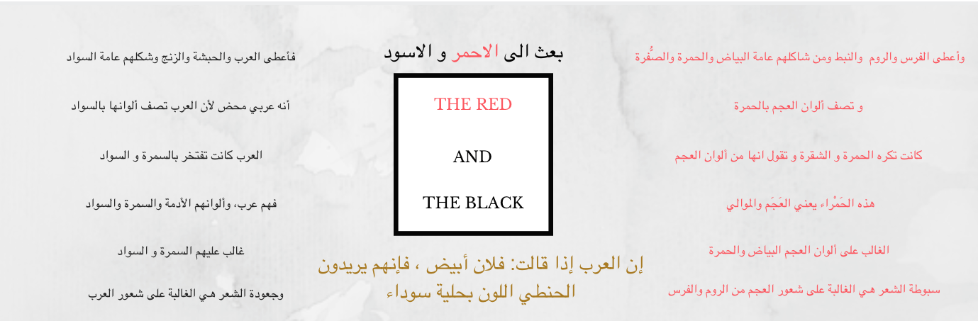 THE REDS AND THE BLACKS